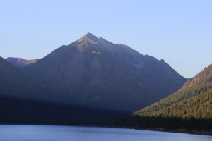 Departure: Morning.  Range of Light ~ Wallowa Lake State Park