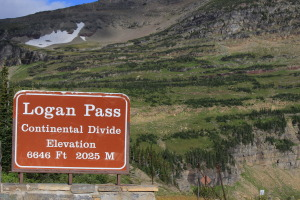 Logan Pass / Continental Divide
