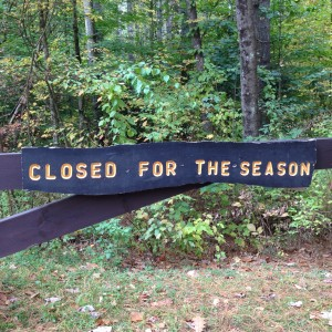 Closed for the Season 2014