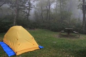 Night 1 Shenandoah NP Misty