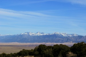 The Sangre de Christo Mountain Range