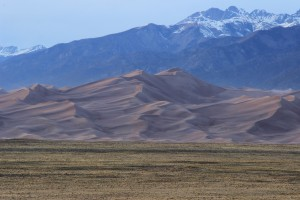 The Great Sand Dunes at Dusk