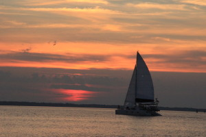 Sailboat Sunset FLA
