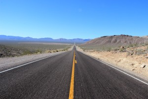 Heading into Death Valley
