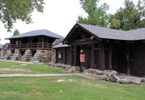 Pavilion and Bath House
