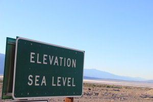 Sea Level - Death Valley website
