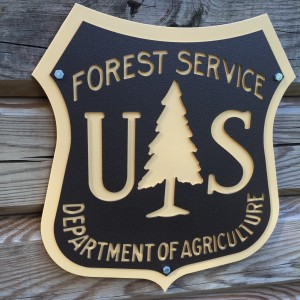 US FOREST SERVICE THANK YOU PAGE